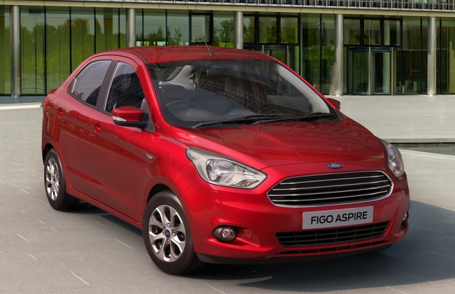 Ford Figo Aspire: Technical Specifications Out