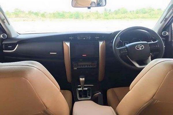 2016 Toyota Fortuner Interior And Exterior