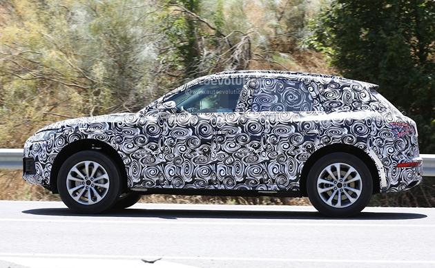 New 2017 Audi Q5 Spy Shots