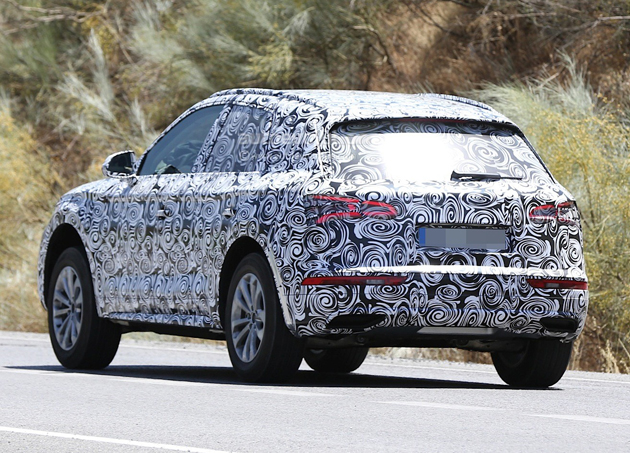 New 2017 Audi Q5 Spy Shots