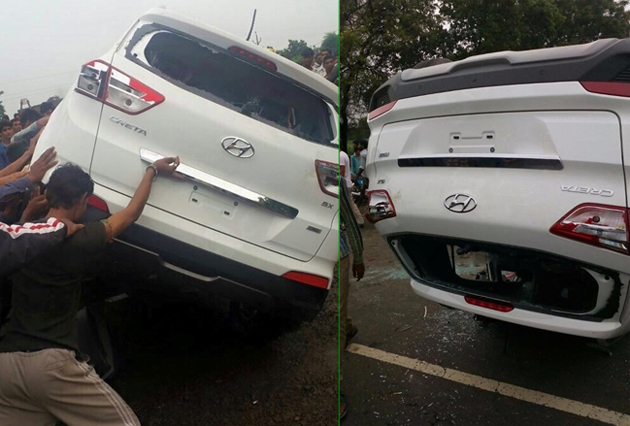 New Hyundai Creta Crashes Even Before Deliveries Commence