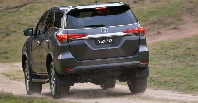 New Toyota Fortuner Revealed In Australia