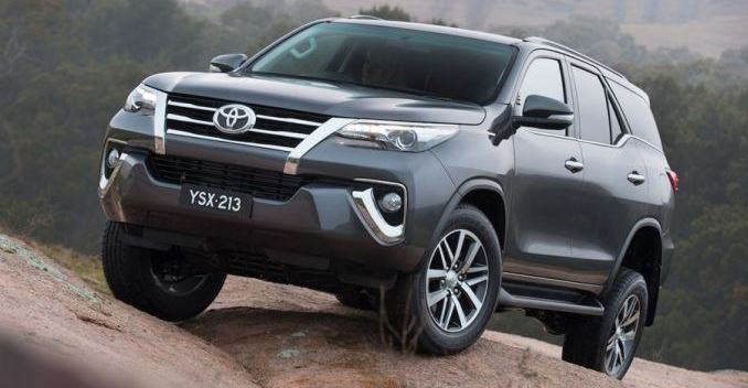 New Toyota Fortuner Revealed