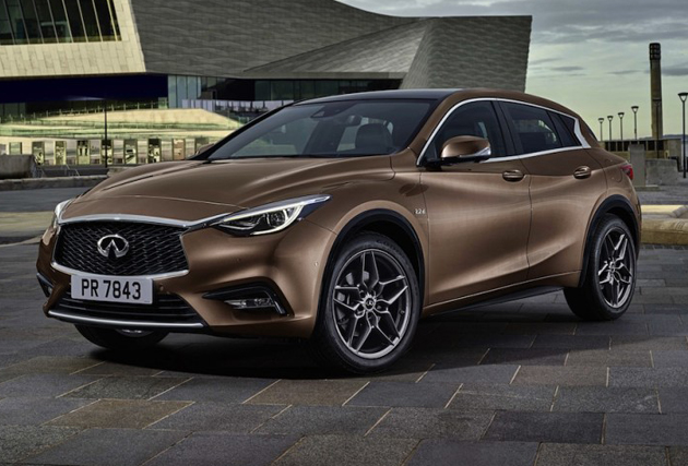 Production Version of Infiniti Q30 Revealed Before Frankfurt Debut
