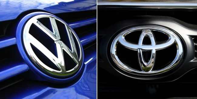 Volkswagen Beats Toyota and General Motors in the First Half of 2015