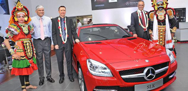 74th Mercedes Benz Dealership Opens in India