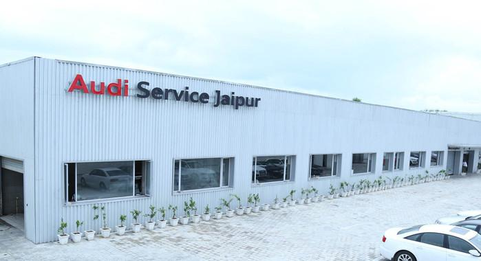 Audi's First Pre-owned Car Showroom Opened in Jaipur