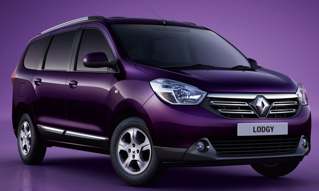 Base 7-Seater Renault Lodgy RxE Coming Soon!