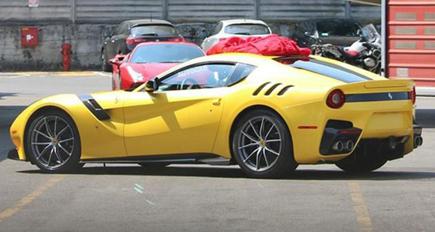 Ferrari F12 Speciale Spotted Testing Without Any Camouflage