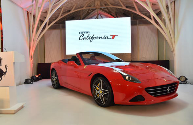 Ferrari Re-enters Indian Market with the Launch of the California T
