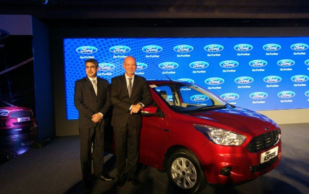 Ford Figo Aspire Launched