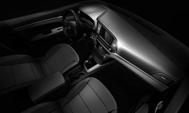 Hyundai Teases the Interiors of the Upcoming Elantra