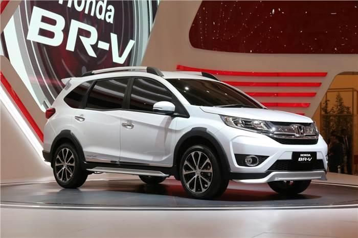 India Bound Honda BR-V Compact SUV Officially Unveiled