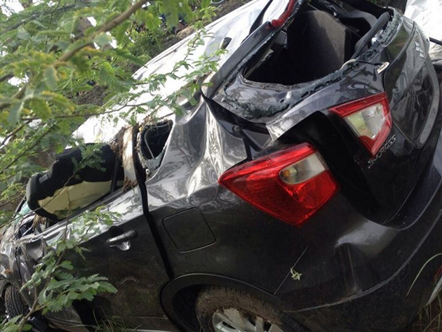 S-Cross Damaged in a Crash Before Launch