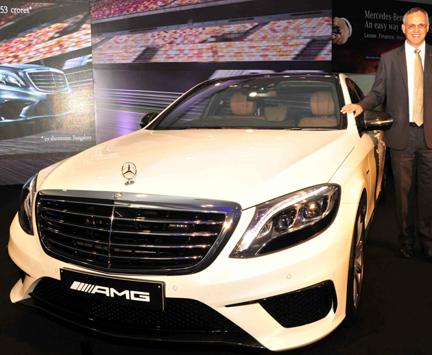 Mercedes Benz S 63 AMG Sedan Launched in India at Rs.2.53 crore