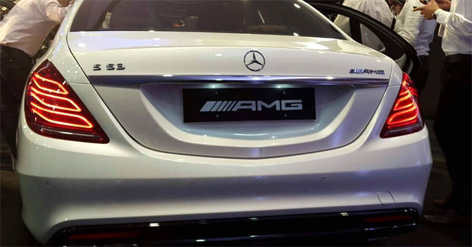 Mercedes Benz S 63 AMG Sedan Launched