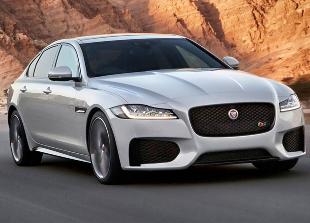New Jaguar XF Specifications Out