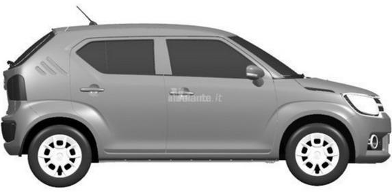 Suzuki IM-4 SUV Patent Images Leaked Online