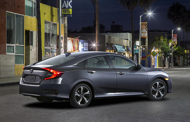 10th generation Civic Sedan revealed by Honda