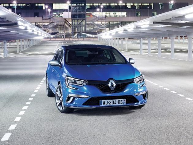 All New Renault Megane Hatchback Unveiled