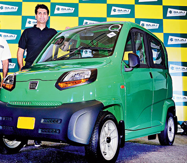 Bajaj 'Qute' launched globally
