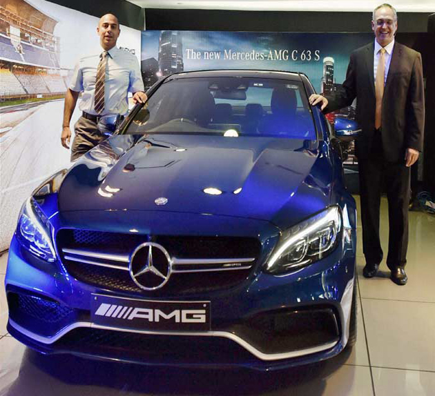 C63 S AMG launched by Mercedes Benz for Rs.1.30 crore