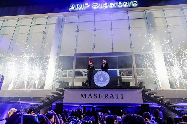 First India dealership opened by Maserati