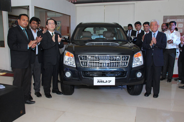 Isuzu opens a new dealership in Pune
