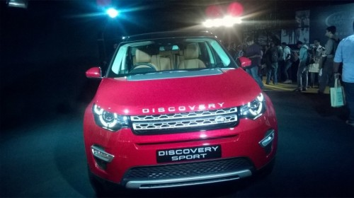 Land Rover Discovery Sport Launched