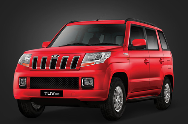 Mahindra TUV300 Launched