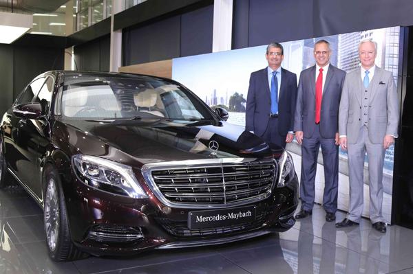 Maybach S600 launched by Mercedes Benz