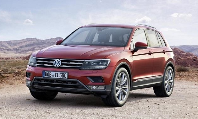 Next-Gen Volkswagen Tiguan Officially Unveiled