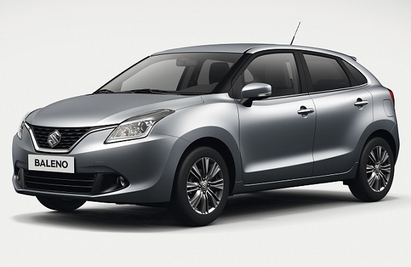 Suzuki Baleno Unveiled at Frankfurt