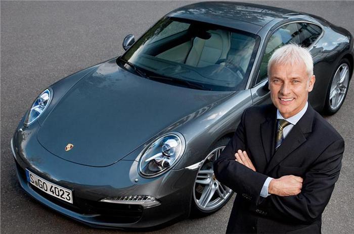 Volkswagen Announces Matthias Muller as Next CEO
