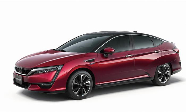FCV Fuel Cell Vehicle Unveiled by Honda
