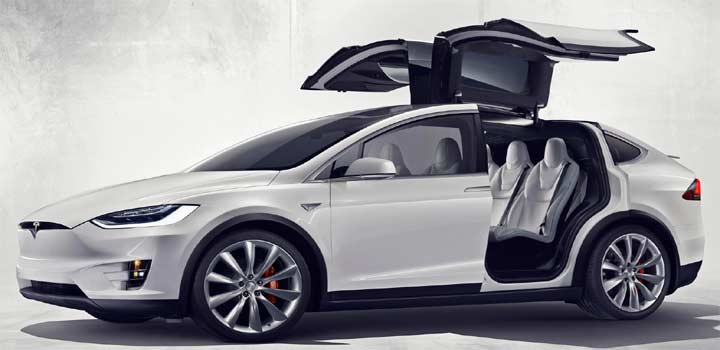 Model X Electric Crossover Officially Unveiled by Tesla
