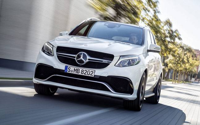 New Mercedes Benz GLE to be Launched on October 15th