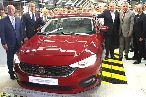 Under Production Aegea Renamed Egea by Fiat
