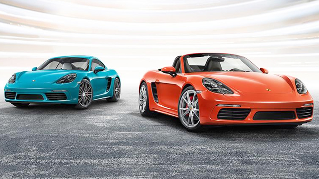 Porsche 718 Boxster, 718 Cayman Launched in India