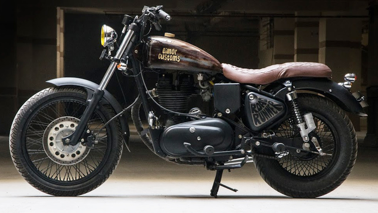 Royal Enfield Bullet Road Runner By Eimor Customs
