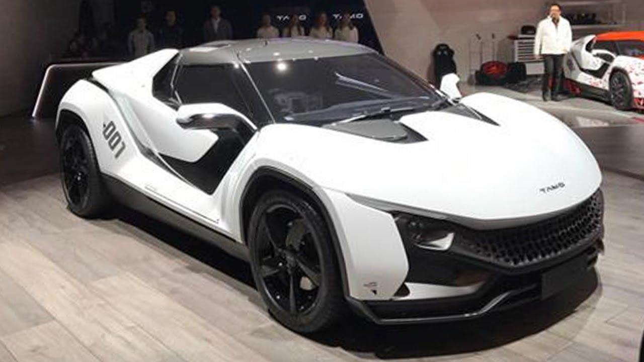 Tata Motors Unveils Sports Car Tamo Racemo