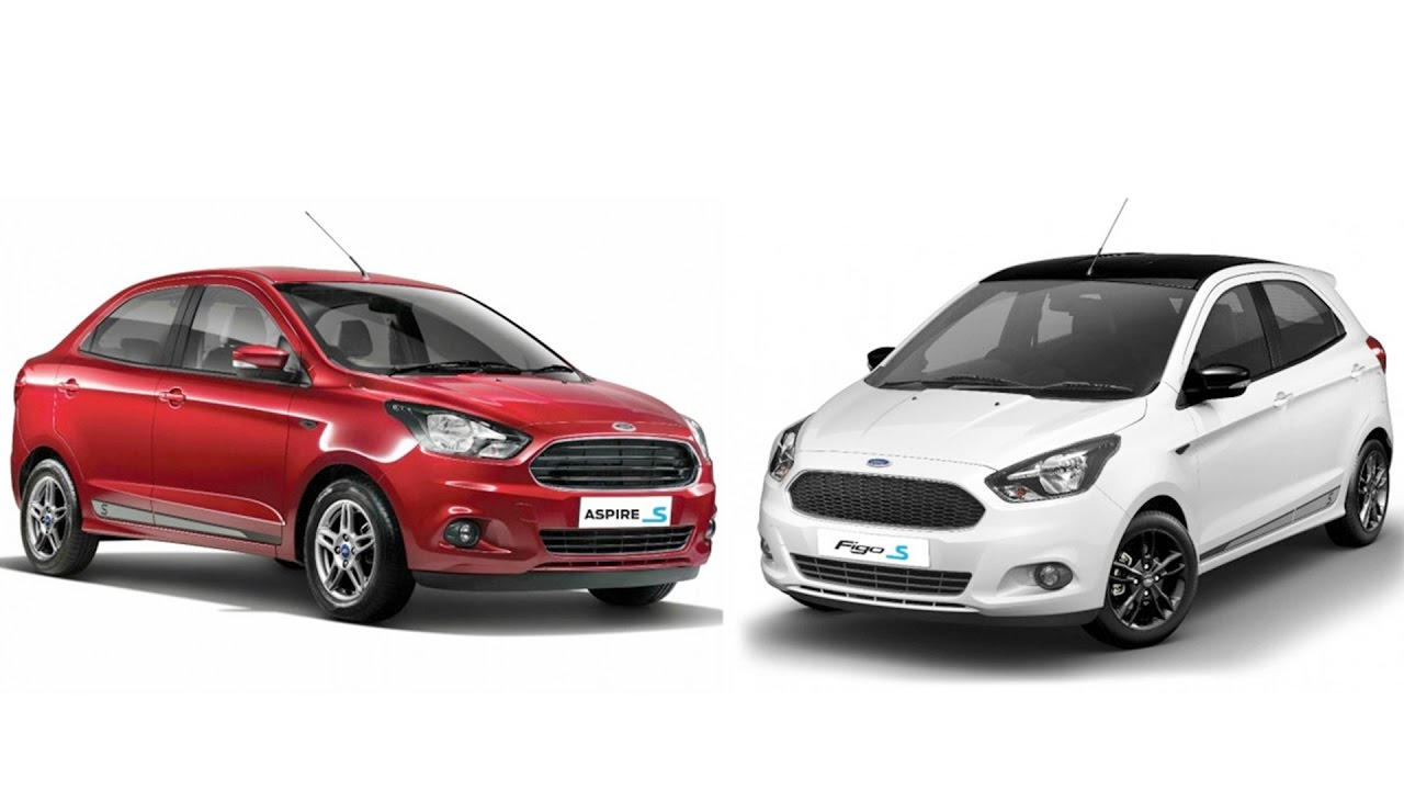 2017 Ford Figo S, Aspire S launched In India