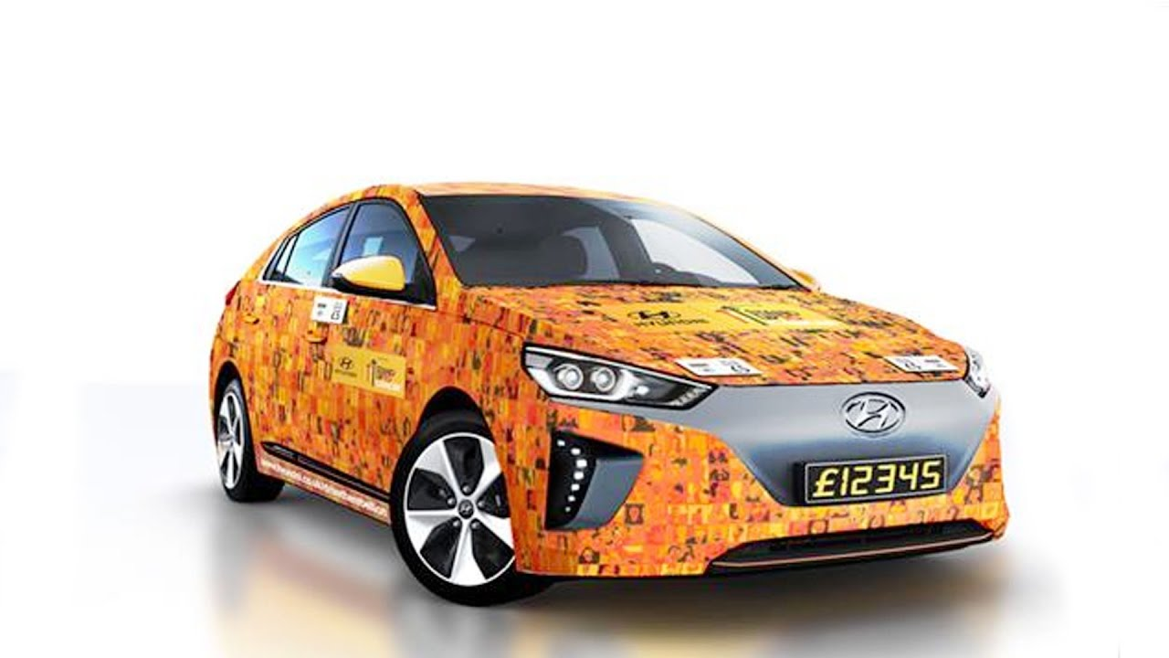 Hyundai Launches World's First Contactless Car