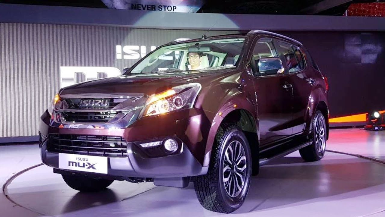 Isuzu MU-X Launched In India; Prices Start At ₹ 23.99 Lakh