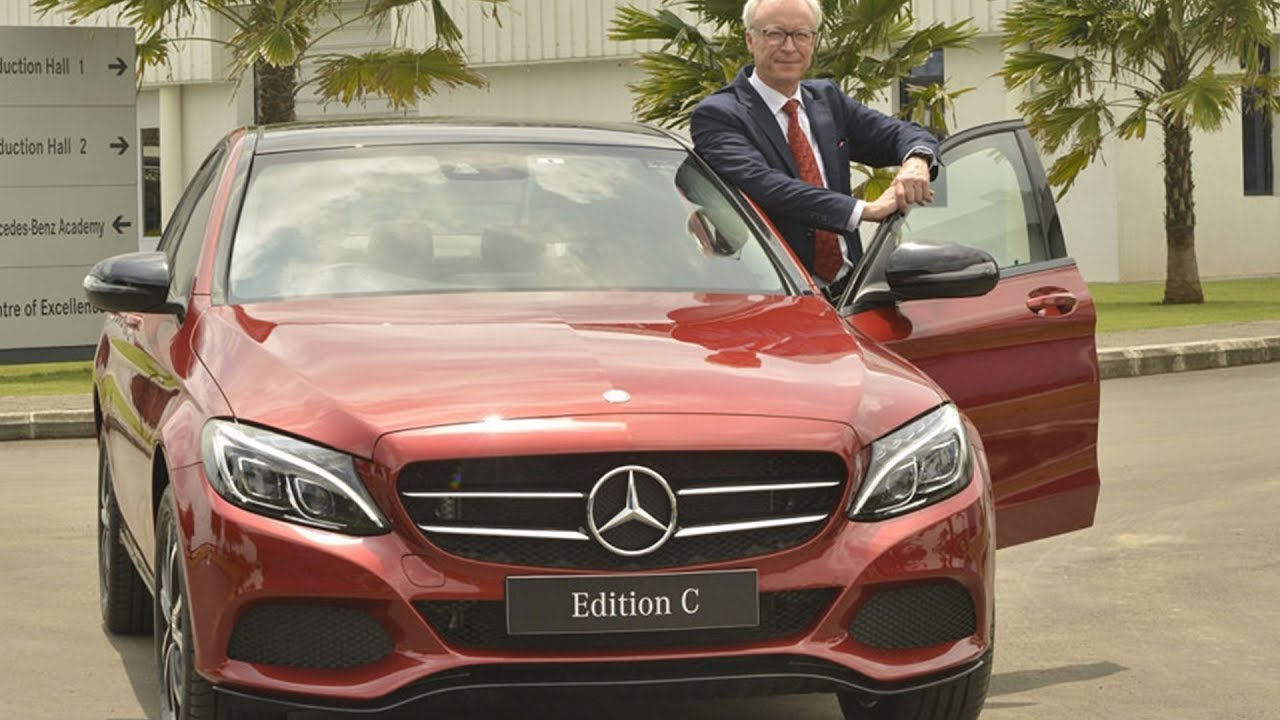 2017 Mercedes C-class Edition C Launched At Rs 42.54 Lakh
