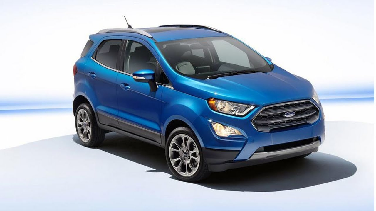 2017 New Ford Ecosport Facelift Detailed Review updated