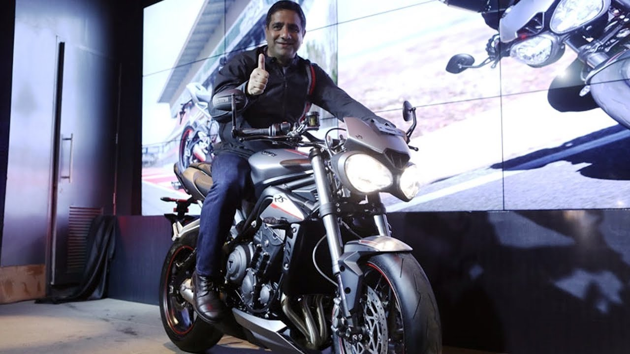 2017 Triumph Street Triple 765 RS Launched At Rs 10.55 Lakh