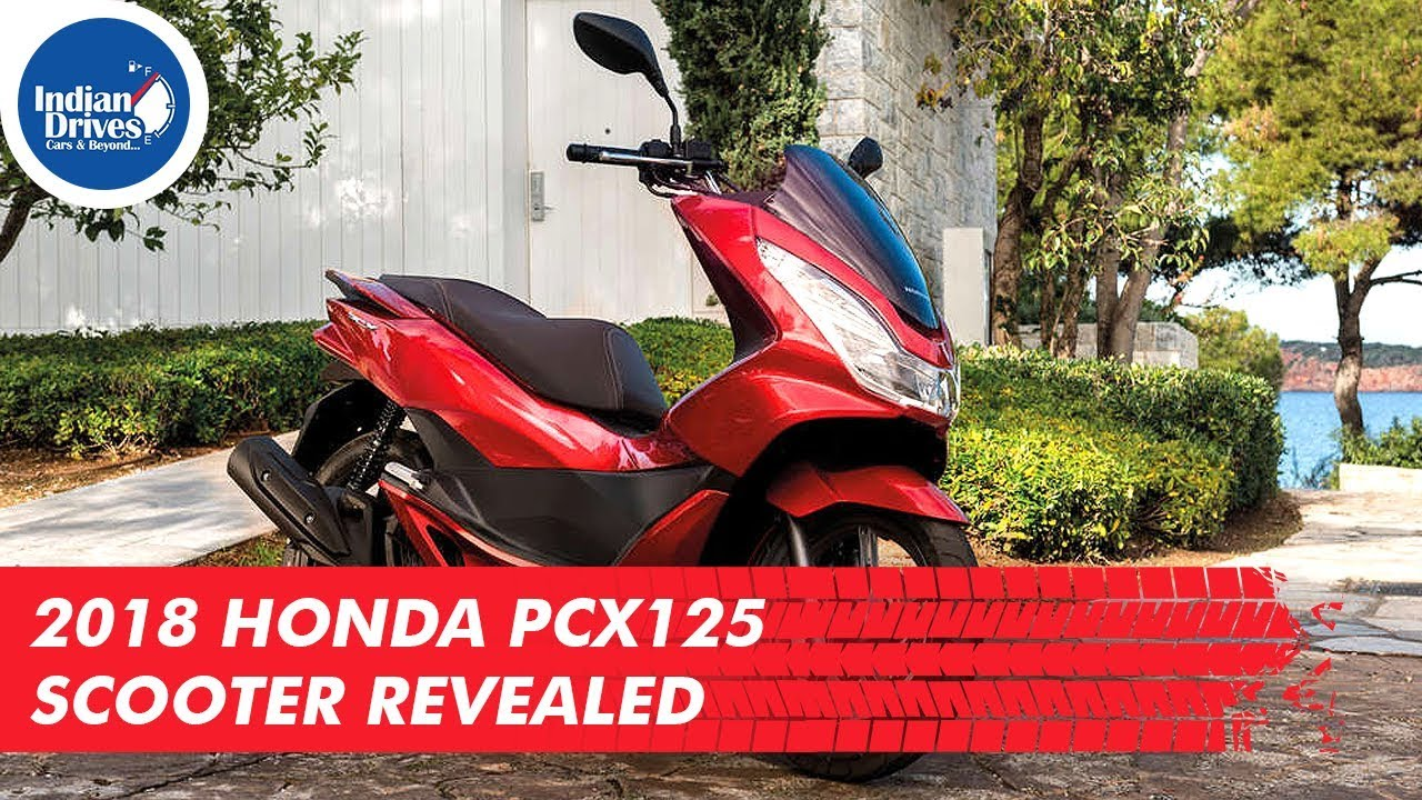 2018 Honda PCX125 Scooter Revealed Before Its Launch
