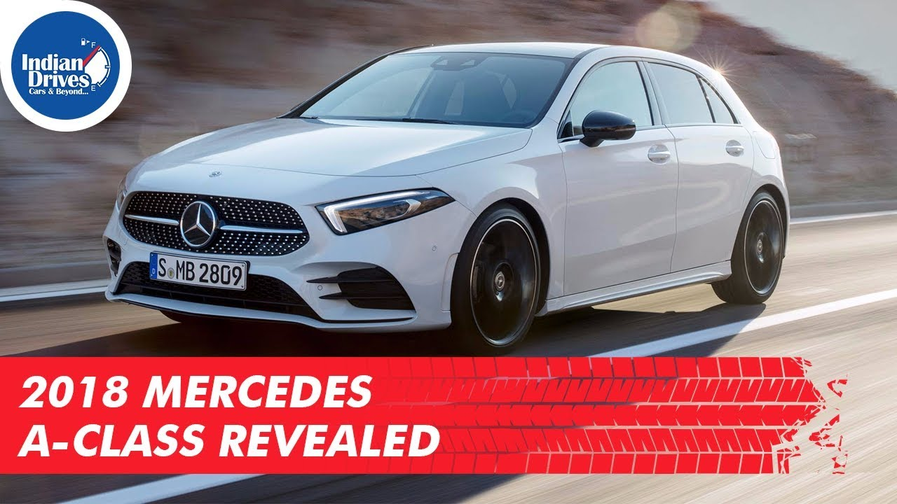 2018 Mercedes A-Class Revealed ahead of its debut