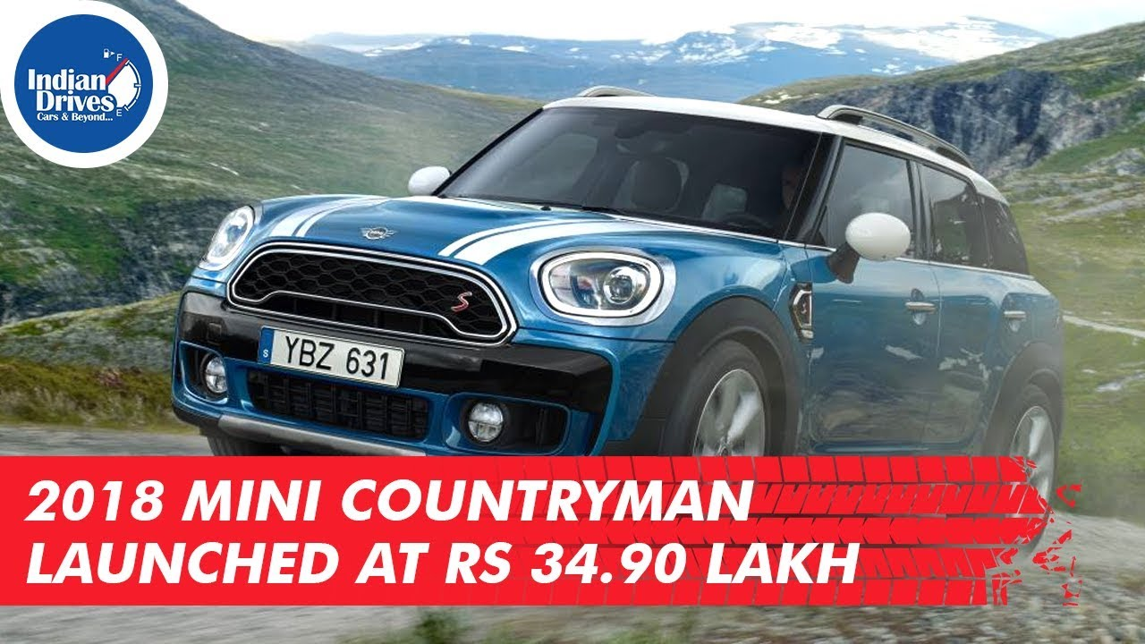 2018 Mini Countryman Launched At Rs 34.90 lakh